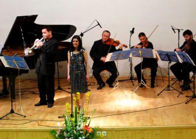 Con Miguel, Beselín, Igor, Katalín, Arturo y Andrés.